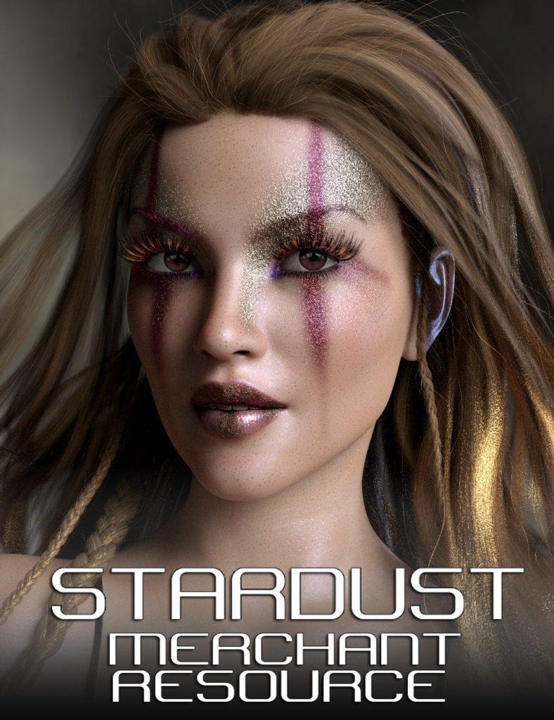 Stardust Glitter Makeup Merchant Resource Bundle_DAZ3D下载站