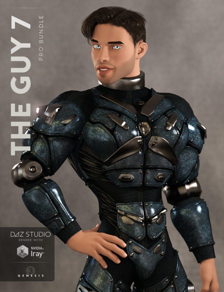 The Guy 7 Pro Bundle_DAZ3D下载站