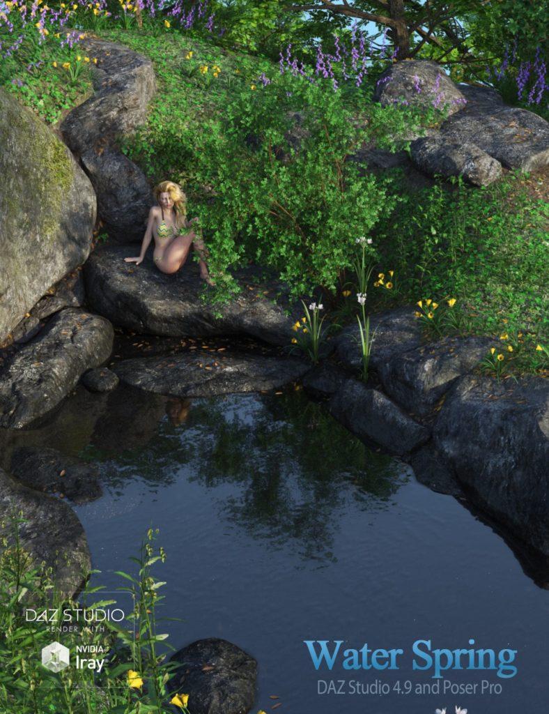 Water Spring_DAZ3D下载站