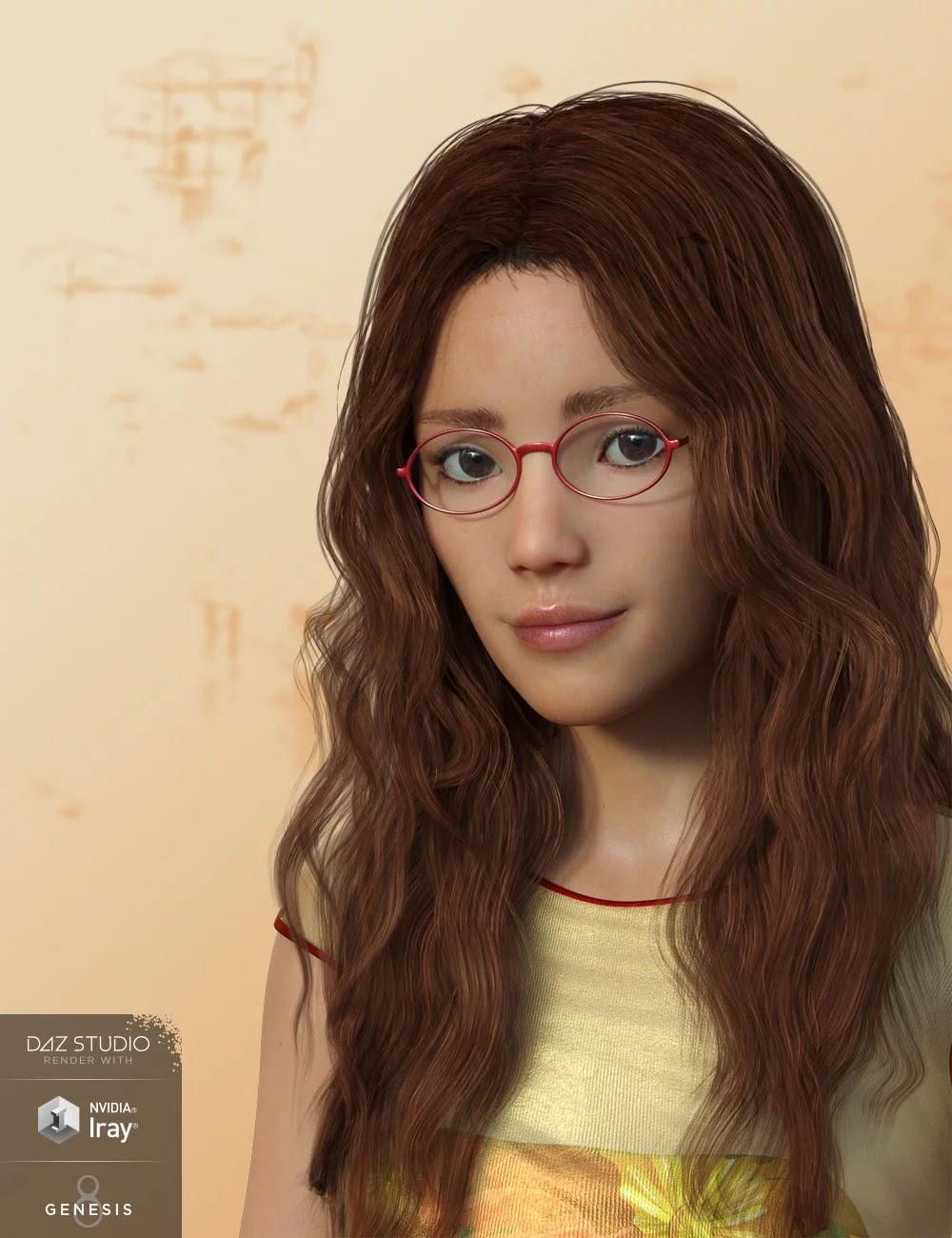 AQ Jenna for Genesis 3 and 8 Female_DAZ3D下载站