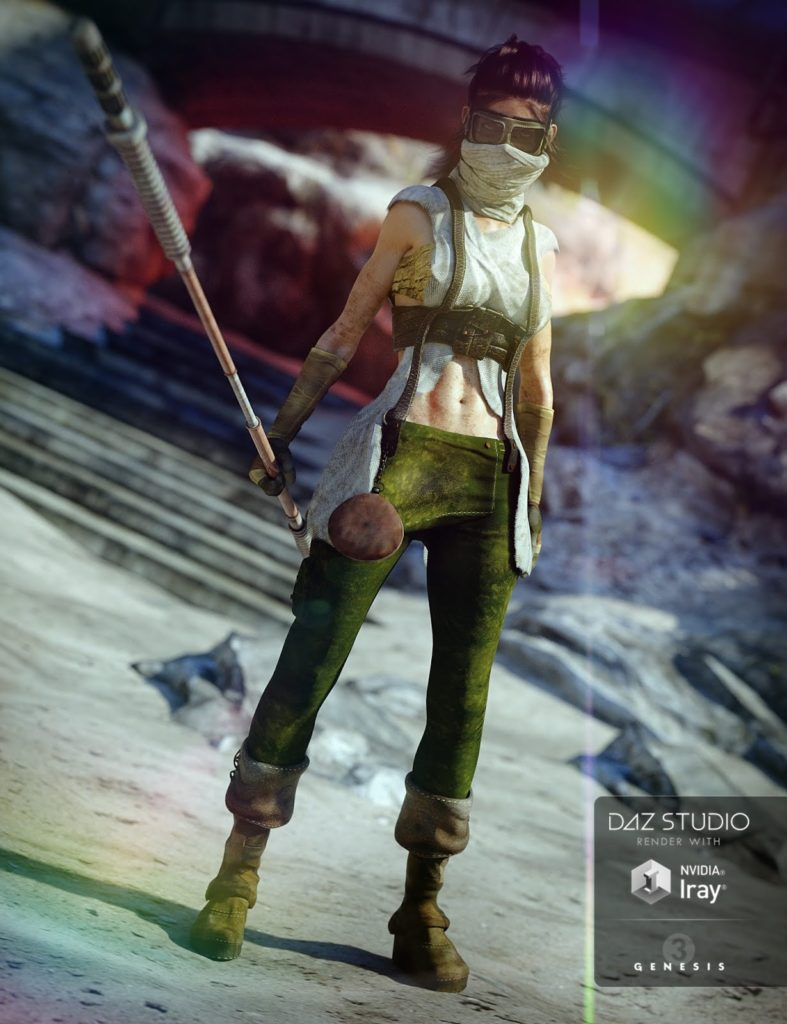 Aftermath Parched for Genesis 3 Female(s)_DAZ3D下载站