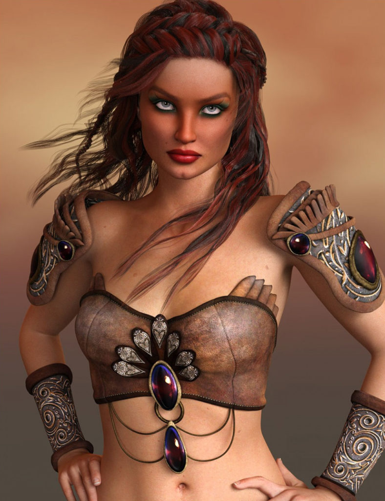 BD Hilde for Olympia 8_DAZ3D下载站
