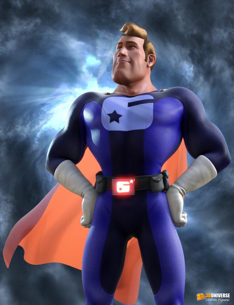Captain Charisma for Genesis 3 Male_DAZ3D下载站