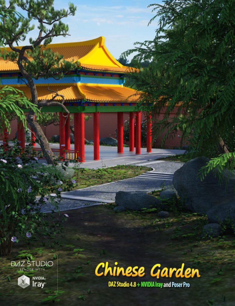 Chinese Garden_DAZ3D下载站