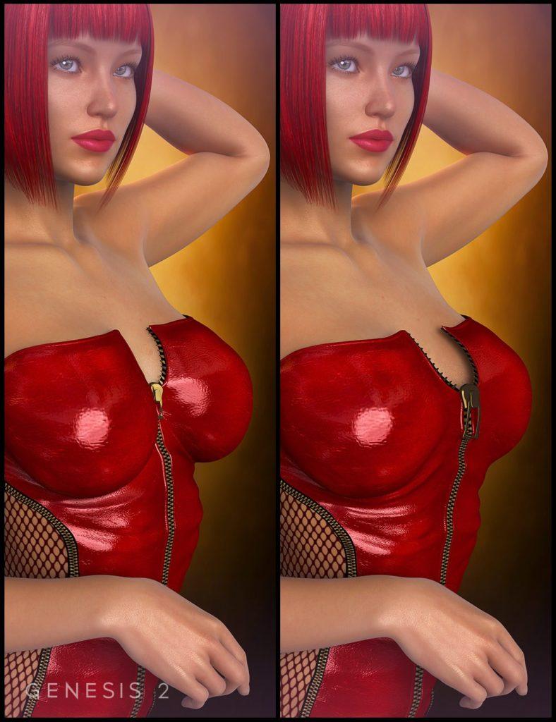 Clothing Breast Fixes For Genesis 2 Female_DAZ3D下载站