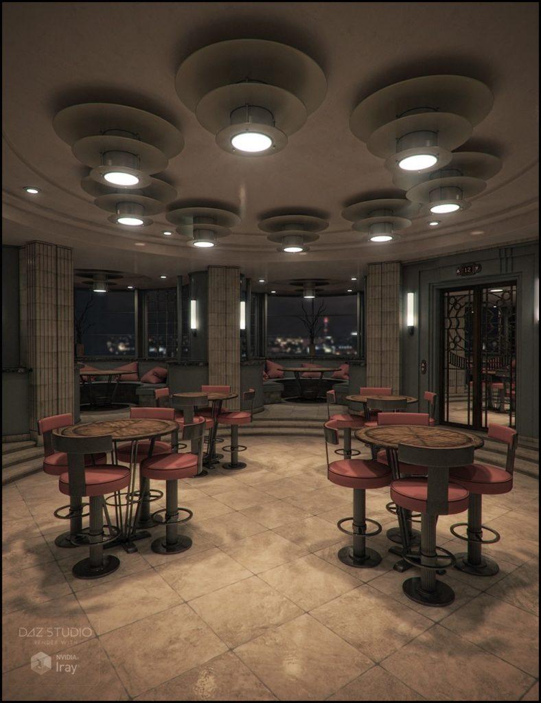 Deco 12th Floor_DAZ3D下载站