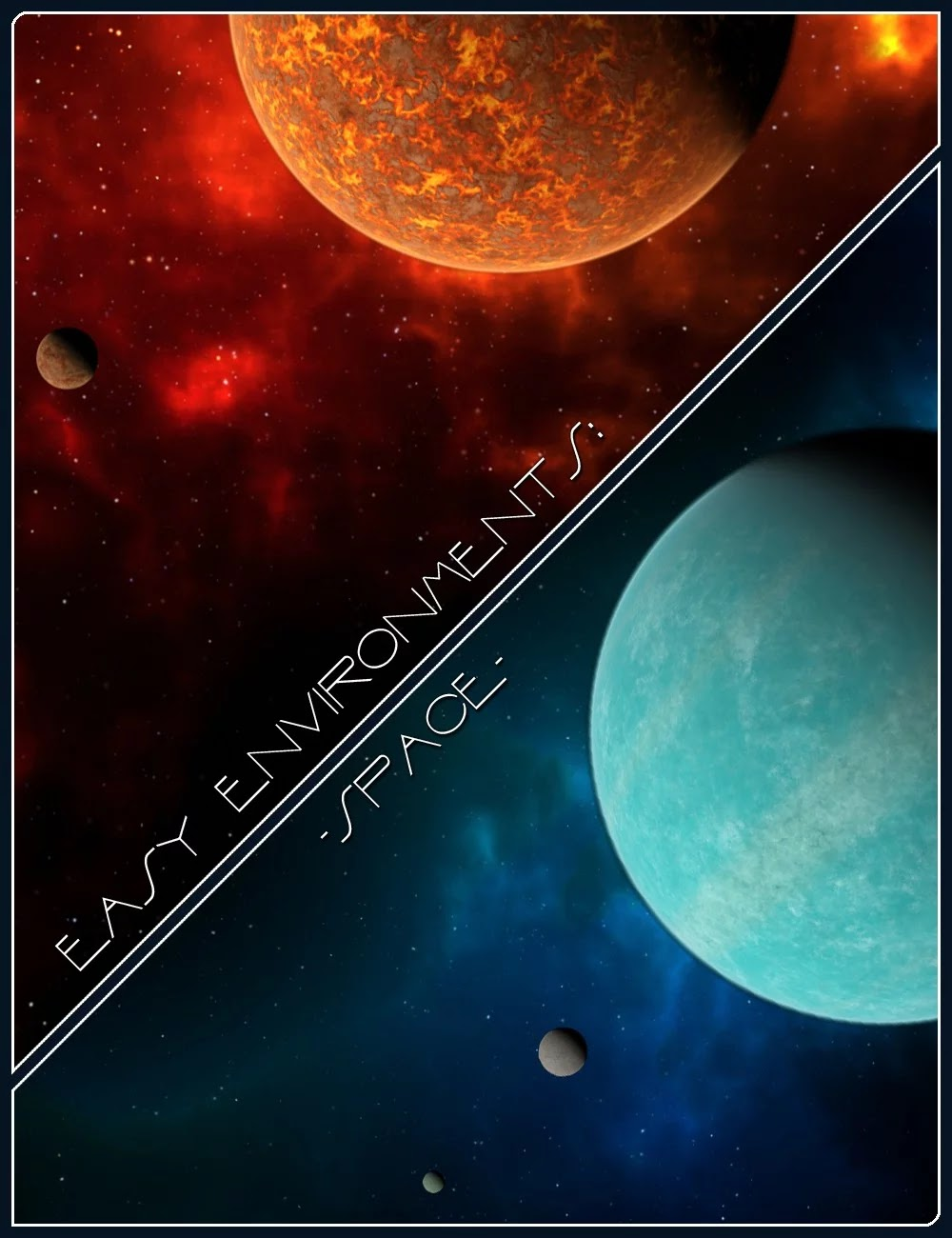 Easy Environments: Space_DAZ3D下载站