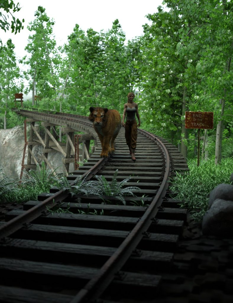 End of the Tracks_DAZ3D下载站