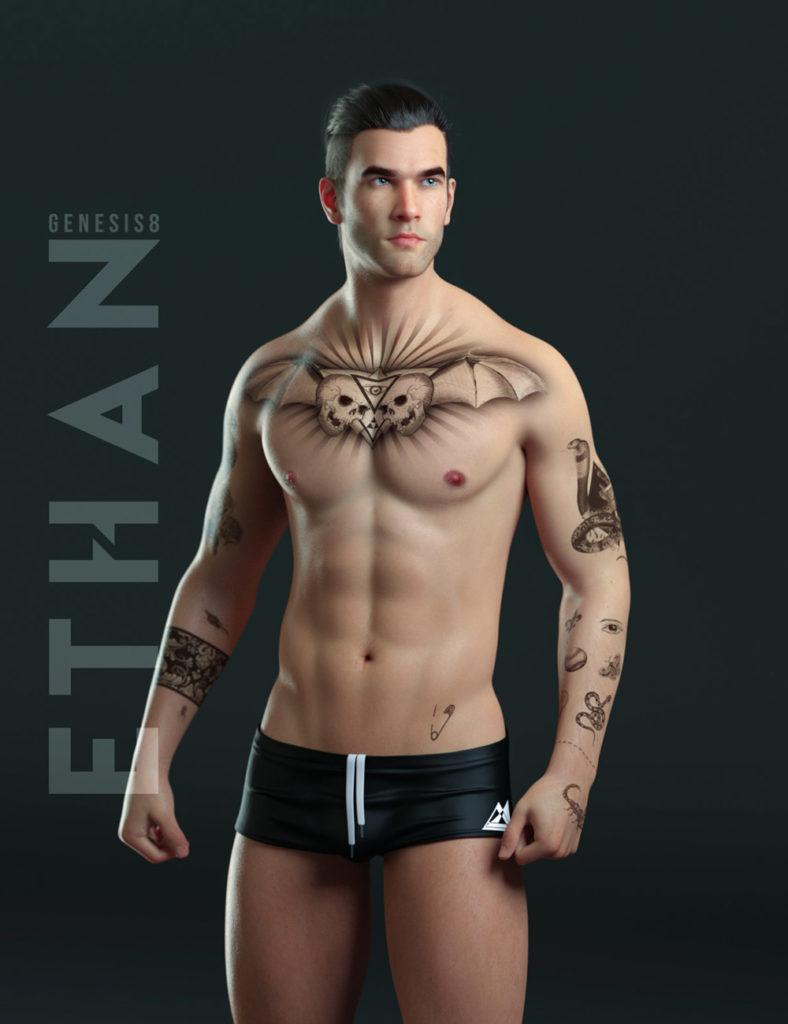 Ethan for Genesis 8 Male_DAZ3D下载站