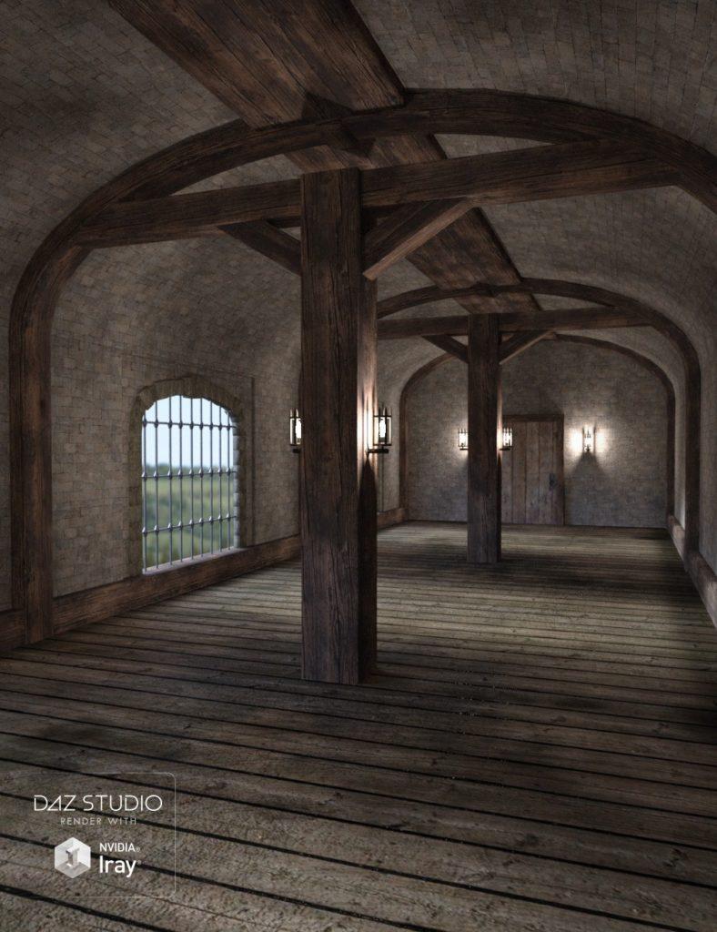 Fantasy Hall_DAZ3D下载站