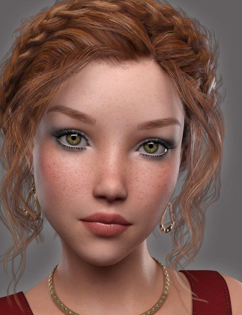 GDN Maria for Genesis 3 Female_DAZ3D下载站
