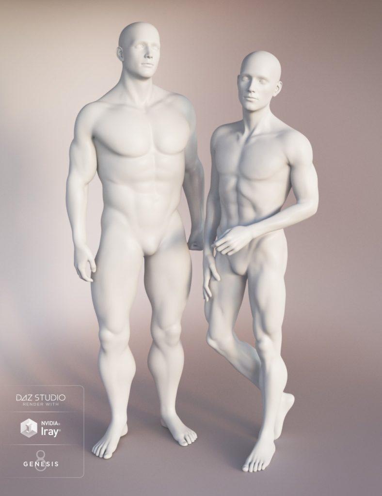 Genesis 8 Male Body Morphs_DAZ3D下载站