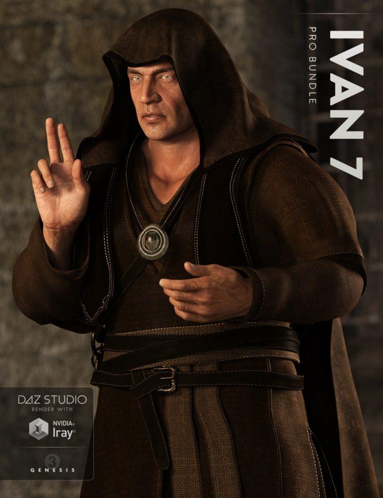 Ivan 7 Pro Bundle_DAZ3D下载站