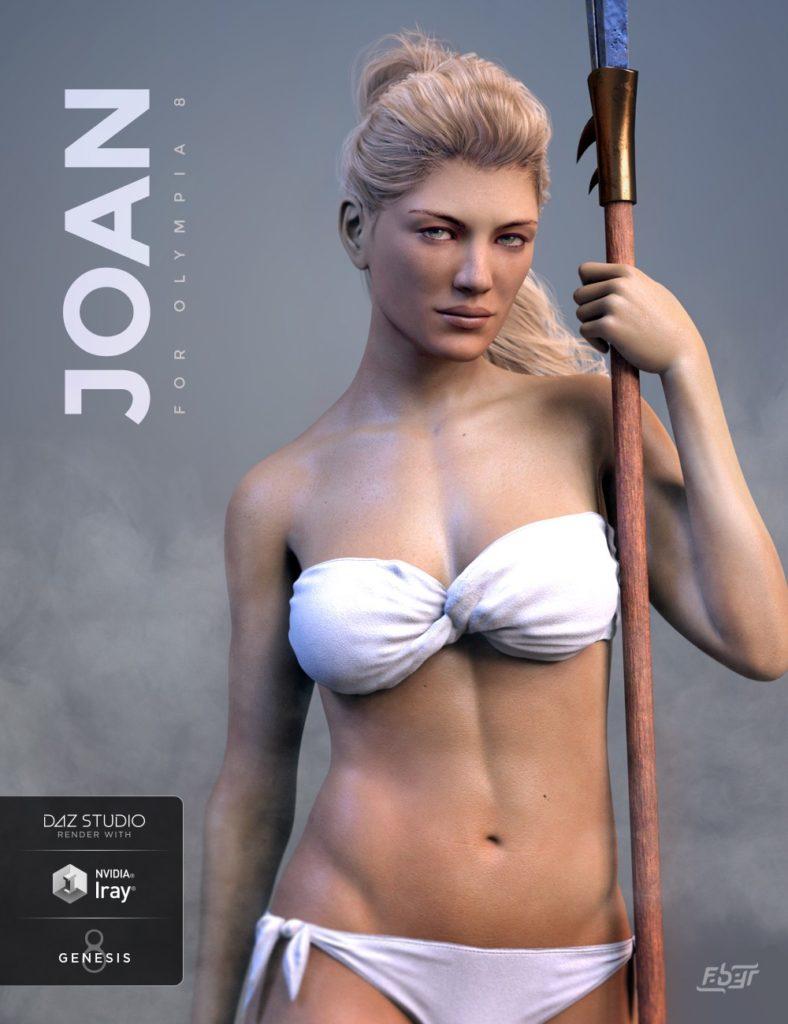 Joan for Genesis 8 Female_DAZ3D下载站