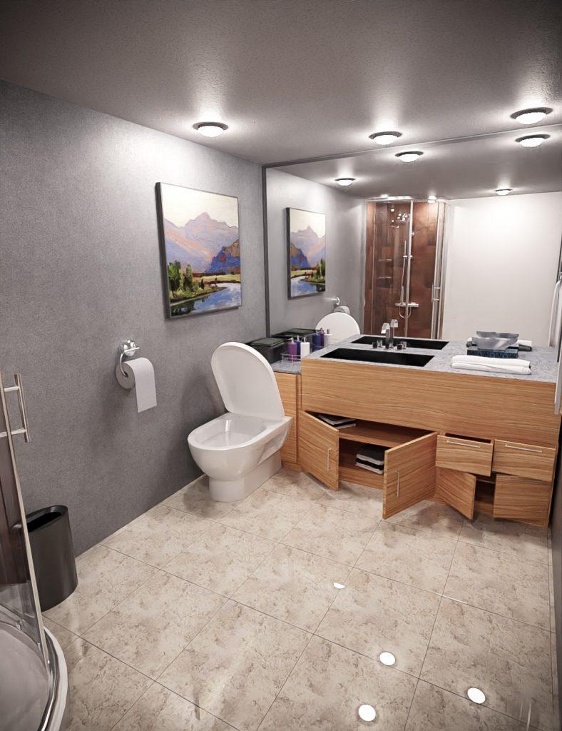 Lovable Bathroom_DAZ3D下载站