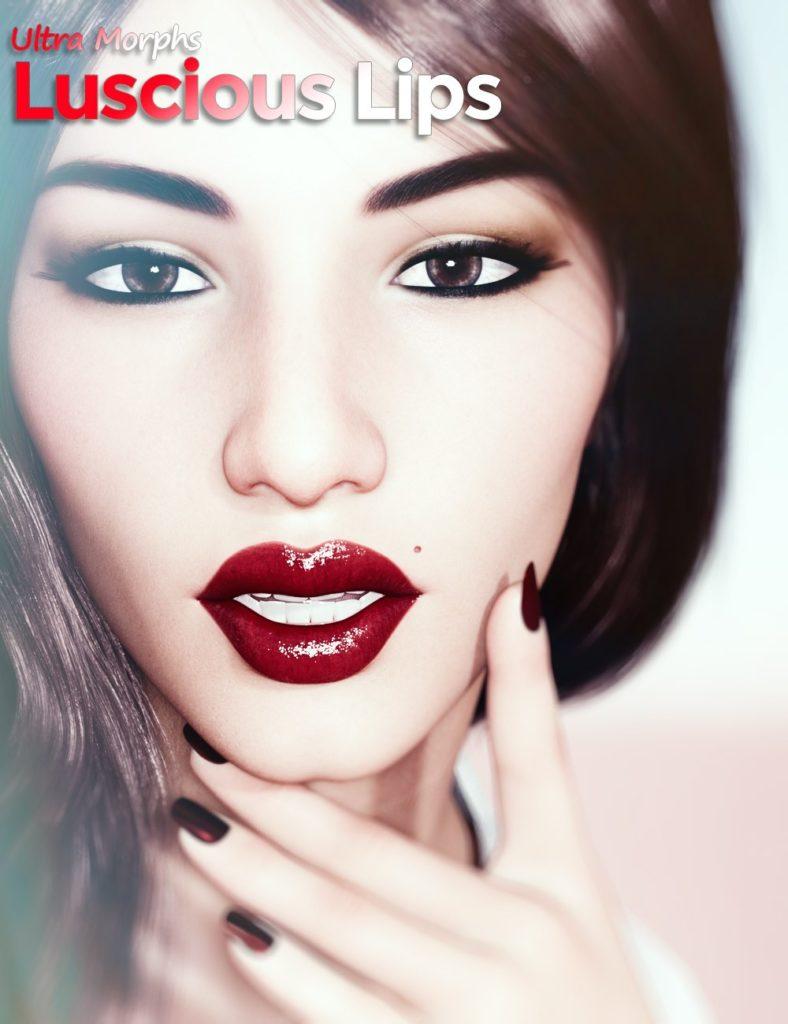 Luscious Lips for Genesis 8 Female_DAZ3D下载站