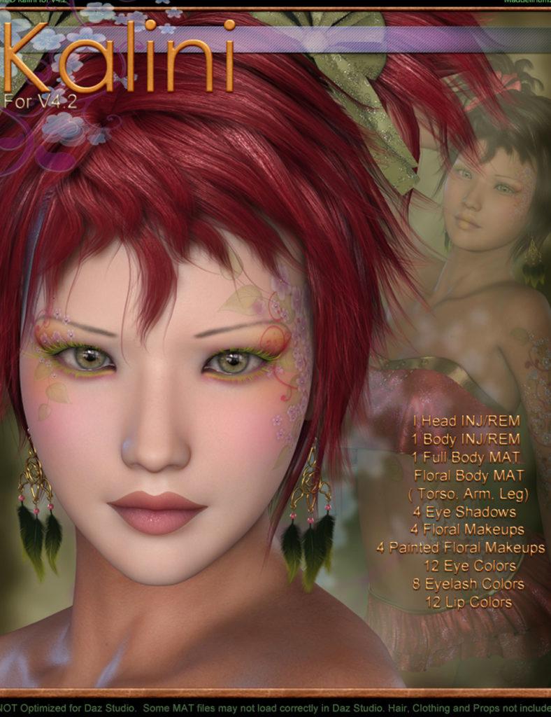 MDD Kalini for V4.2_DAZ3D下载站