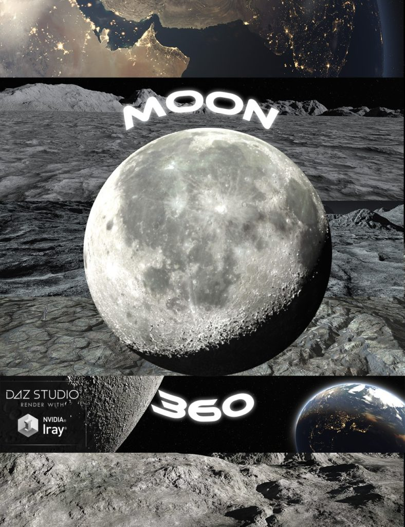 Moon 360_DAZ3D下载站