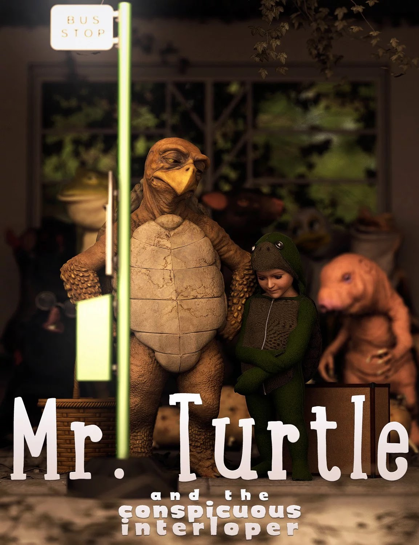 Mr. Turtle and the Conspicuous Interloper_DAZ3D下载站