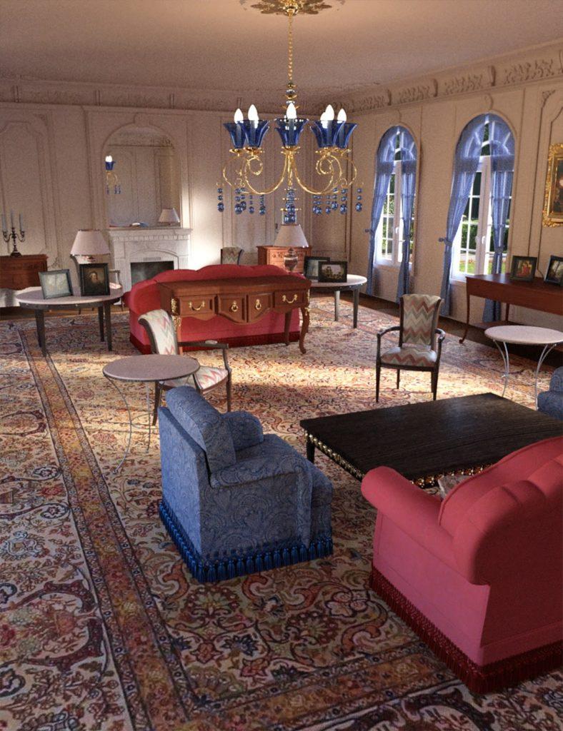 Old Royal Hall_DAZ3D下载站