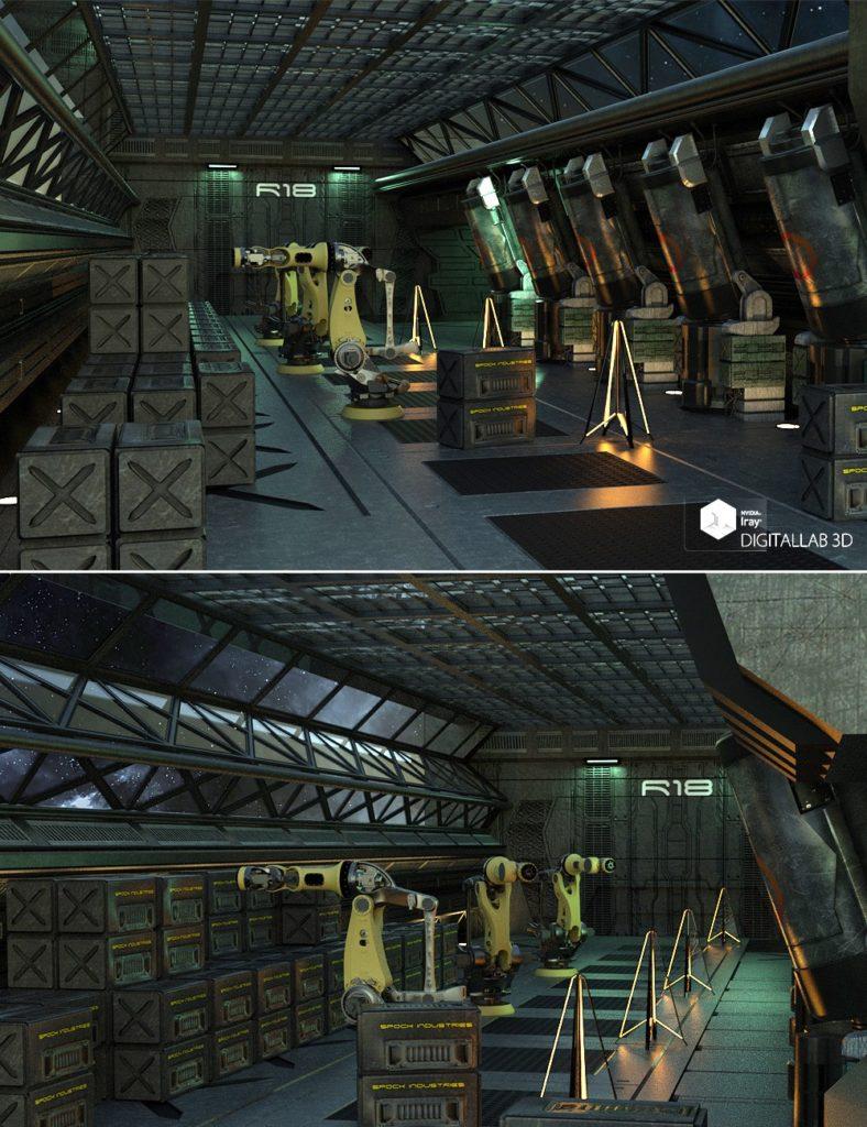 Reactor Room_DAZ3D下载站