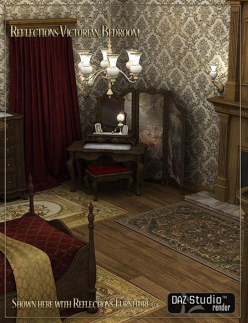 Reflections Victorian Bedroom_DAZ3D下载站