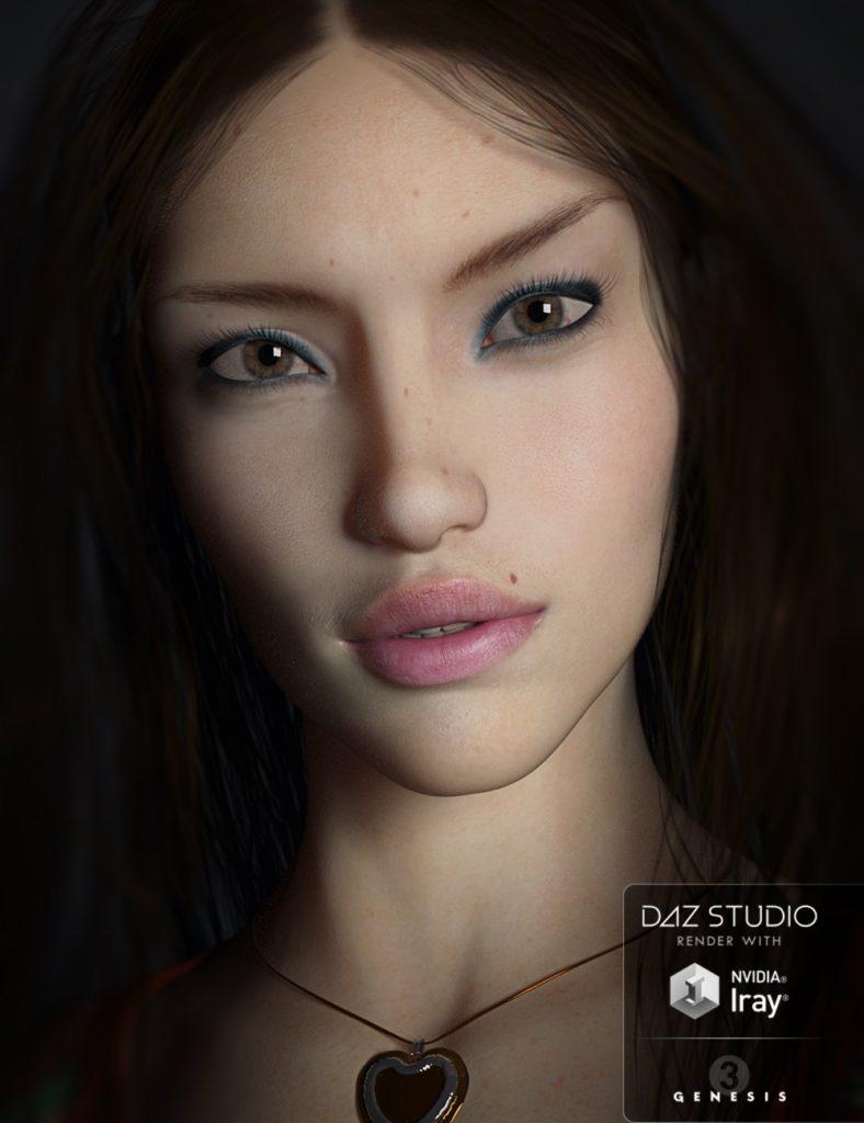 SC Laurana for Genesis 3 Female_DAZ3D下载站