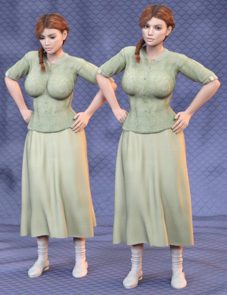 SY Universal Breast Helpers Genesis, Genesis 2 and Genesis 3 Female(s)_DAZ3D下载站