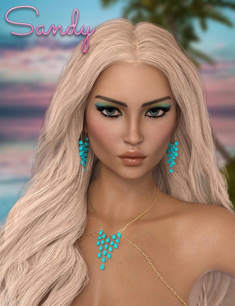 Sandy for Genesis 8 Female_DAZ3D下载站