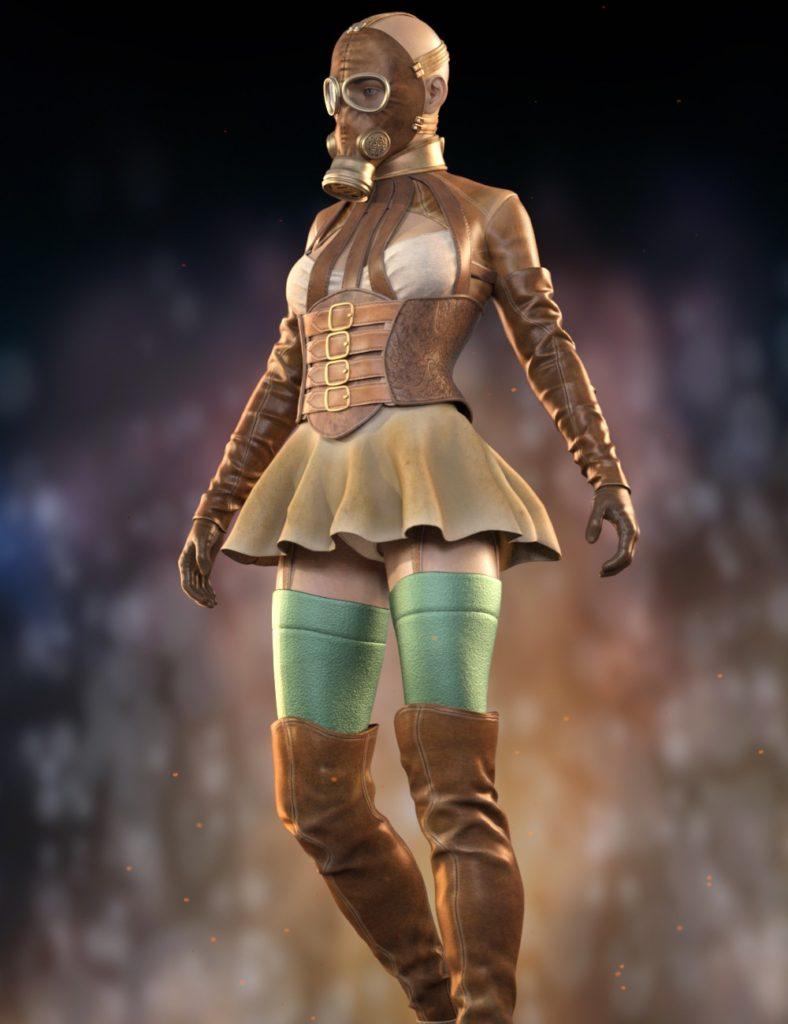 Sasha Outfit for Genesis 8 Female(s)_DAZ3D下载站