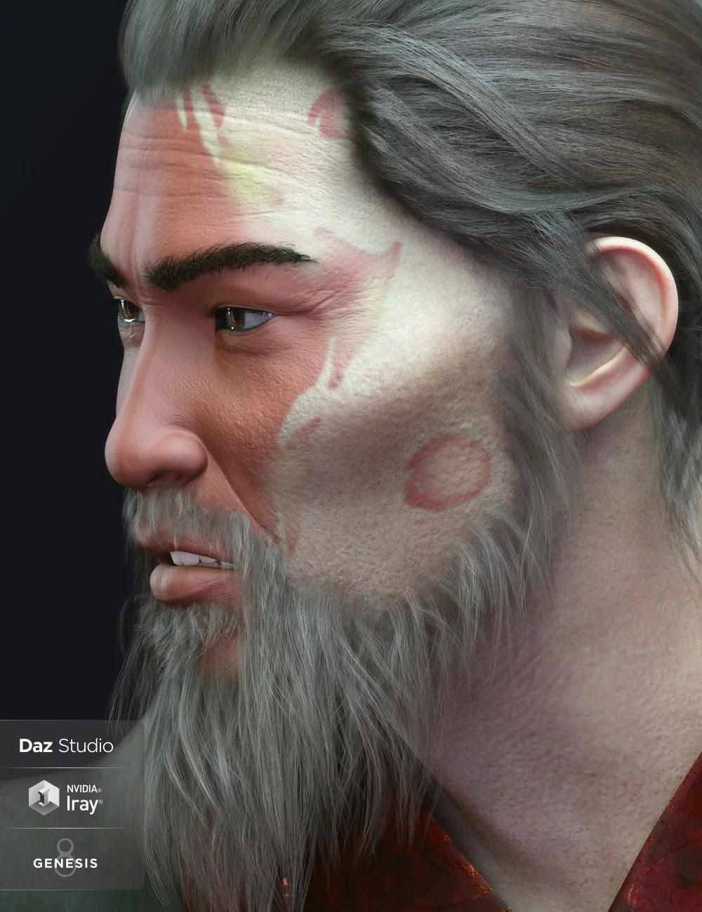 Shang For Genesis 8 Male_DAZ3D下载站