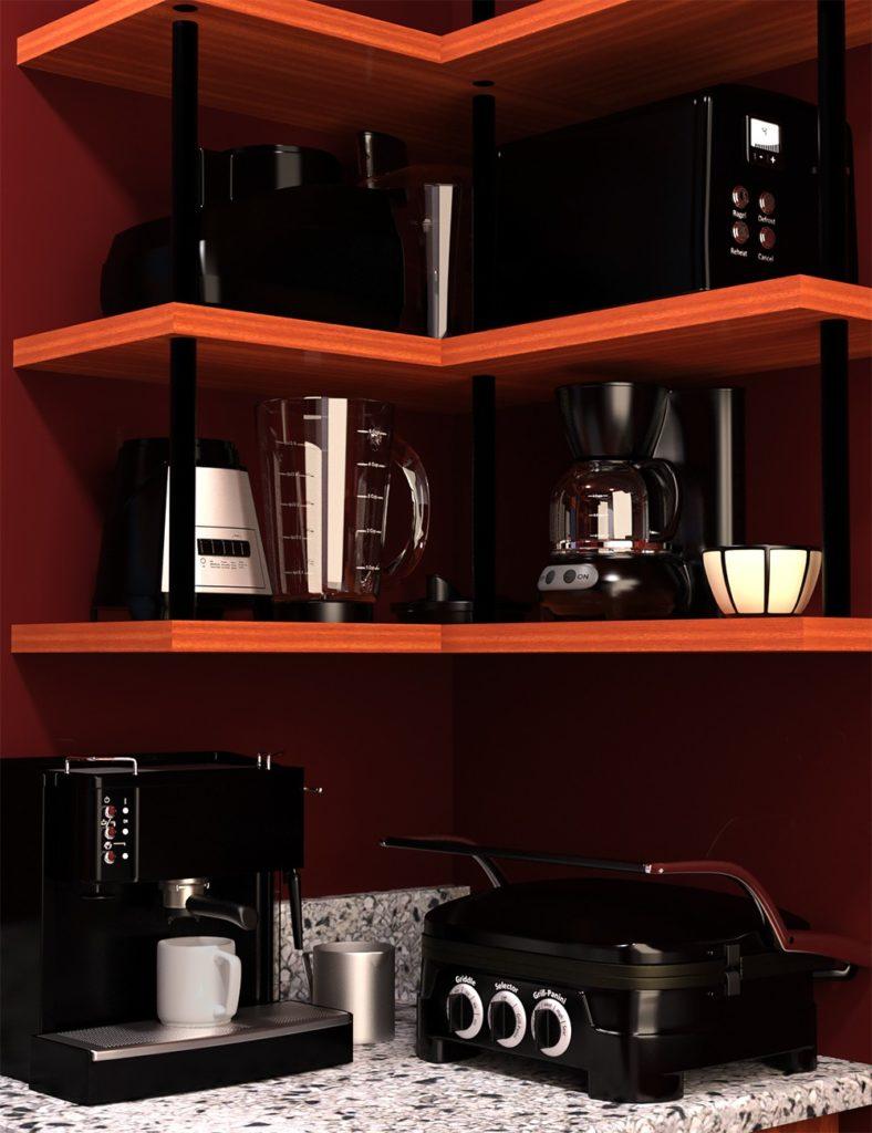 Small Kitchen Appliances_DAZ3D下载站
