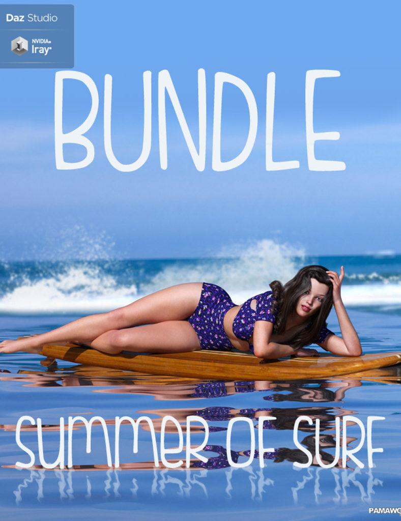 Summer of Surf BUNDLE for GF3 and GF8_DAZ3D下载站