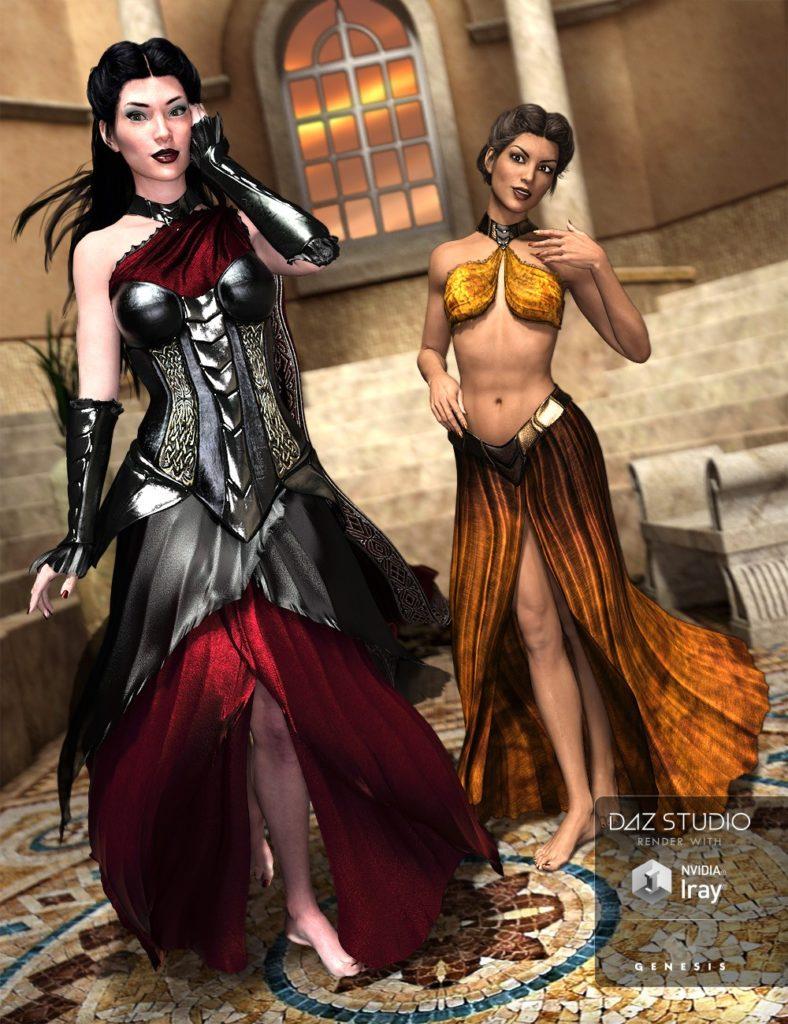 The Aquila Ensemble for Genesis 3 Female(s)_DAZ3D下载站