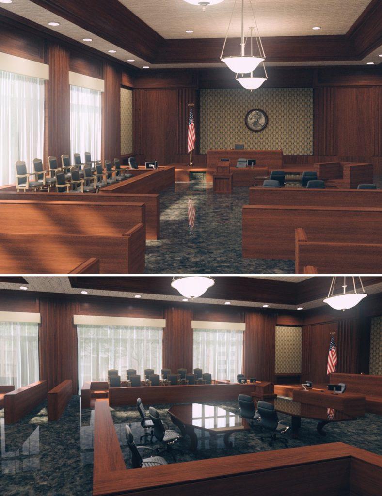 The Courthouse_DAZ3D下载站