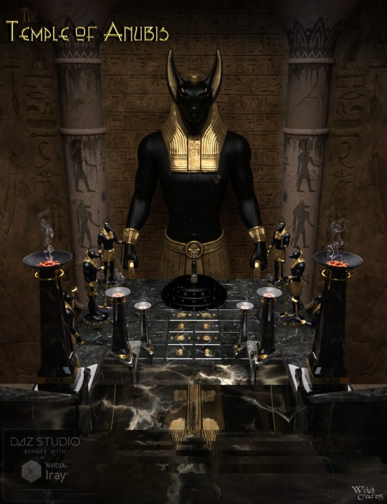 The Temple of Anubis_DAZ3D下载站
