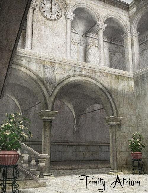 Trinity Atrium_DAZ3D下载站