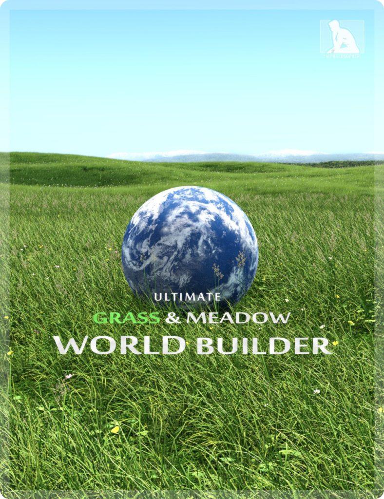 ULTIMATE Grass & Meadow Worldbuilder_DAZ3D下载站