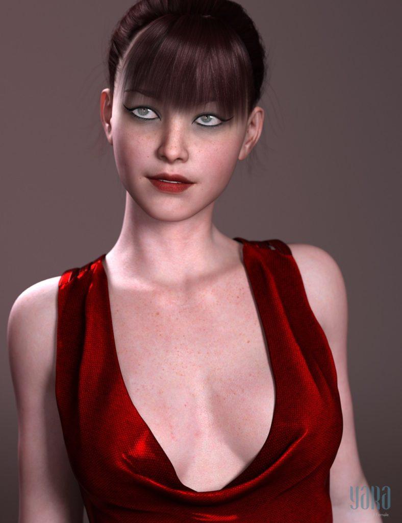 Yara HD for Genesis 3 Female_DAZ3D下载站