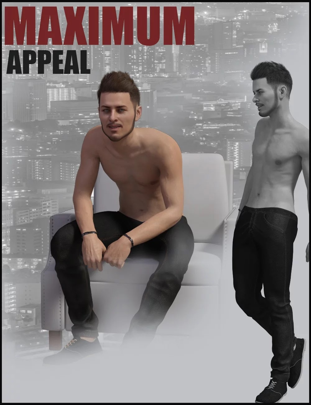 i3D Max Appeal For Genesis 8 Male_DAZ3D下载站