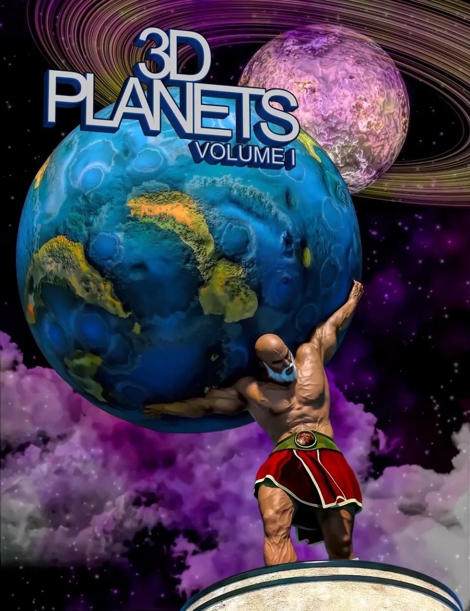 3D Planets Volume 1_DAZ3D下载站