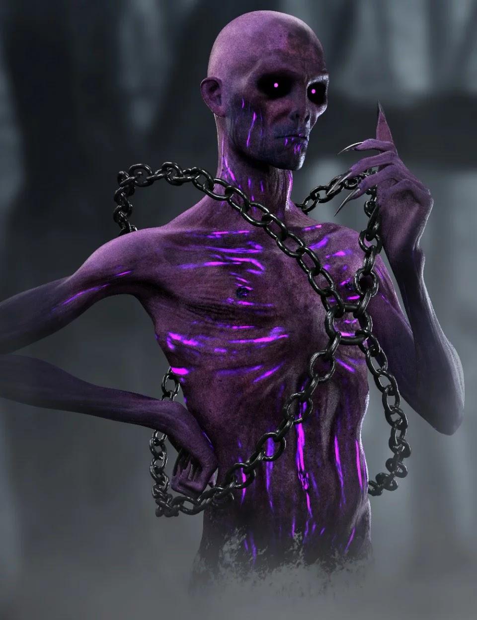 A Wraith Named Steve HD for Genesis 8 Male_DAZ3D下载站