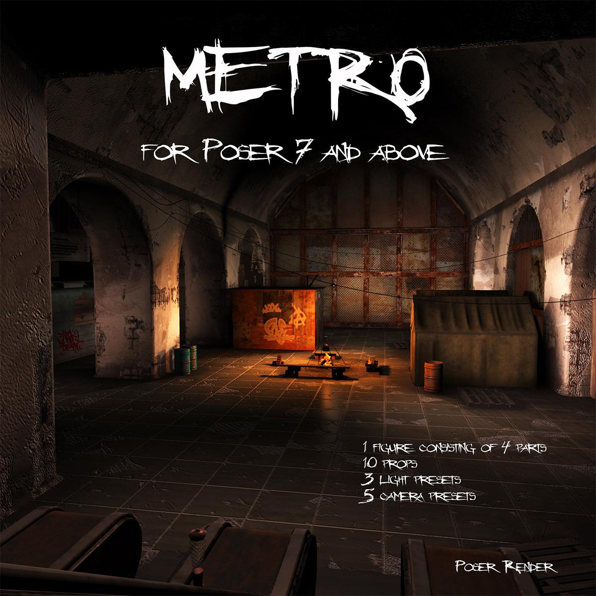 AJ METRO_DAZ3D下载站