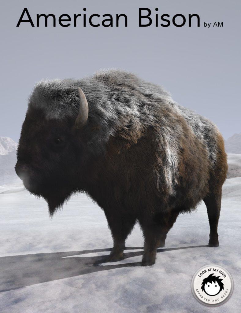 American Bison_DAZ3D下载站