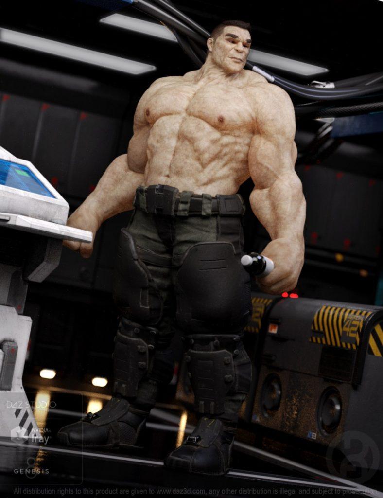 Biggun for Genesis 8 Male_DAZ3D下载站