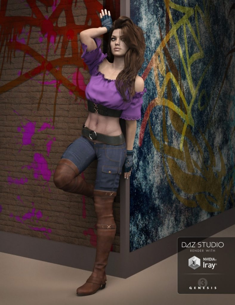Club Princess for Genesis 3 Female(s)_DAZ3D下载站