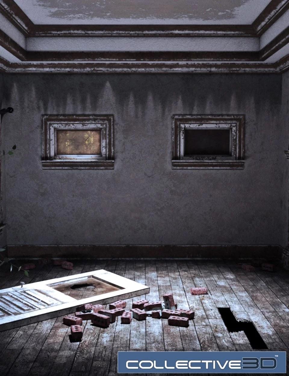 Collective3d Movie Sets Haunted Interior_DAZ3D下载站