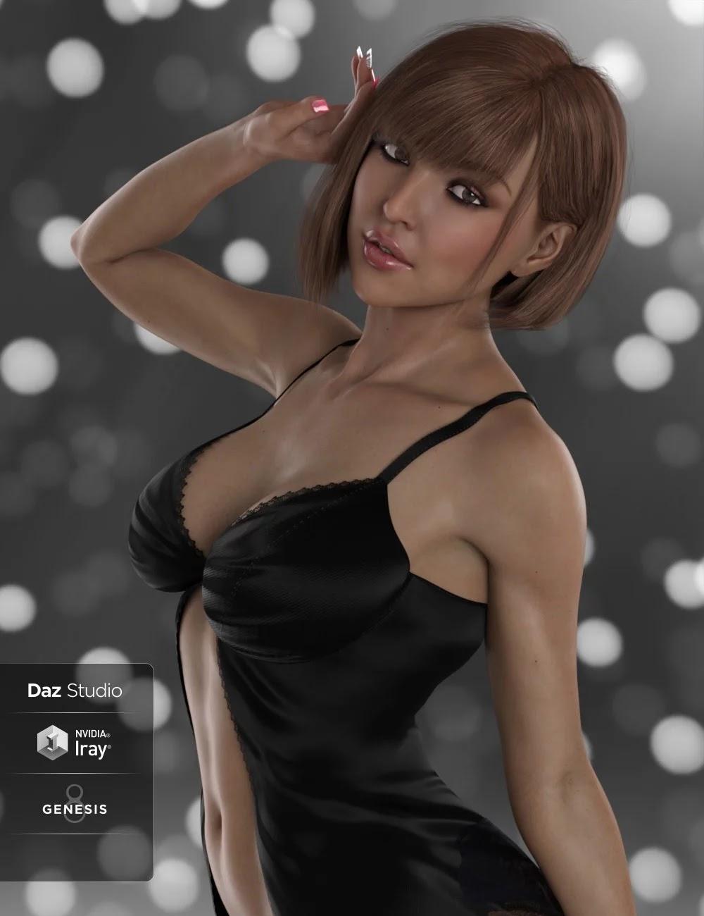 DT- Felicia for Genesis 8 Female_DAZ3D下载站