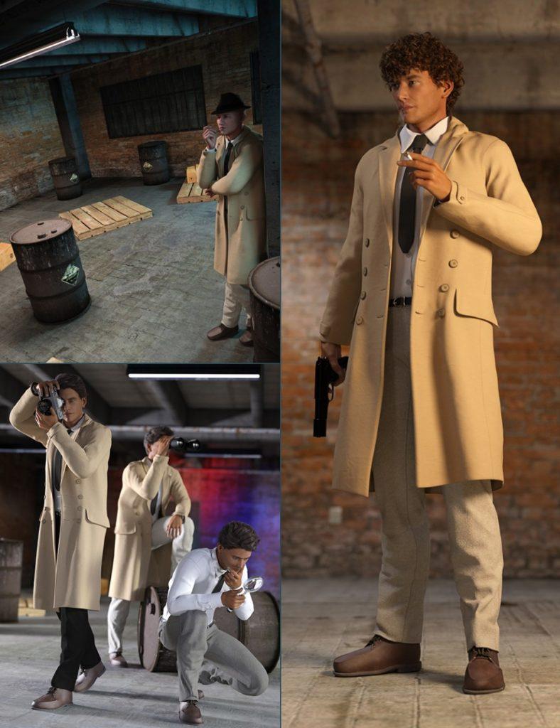 Detective Bundle_DAZ3D下载站