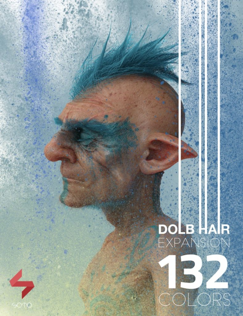 Dolb Hair Expansion_DAZ3D下载站